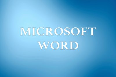 Microsoft Word Courses in Maidstone